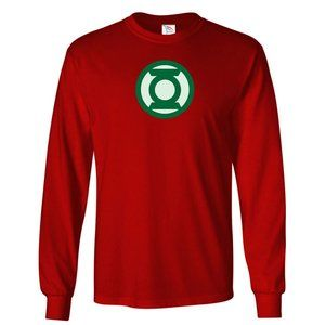 Youth Kids Green Lantern T-Shirt Long Sleeve